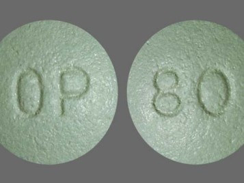 oxycontin addiction pill
